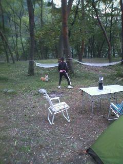 ひするまキャンプ場お楽しみ中